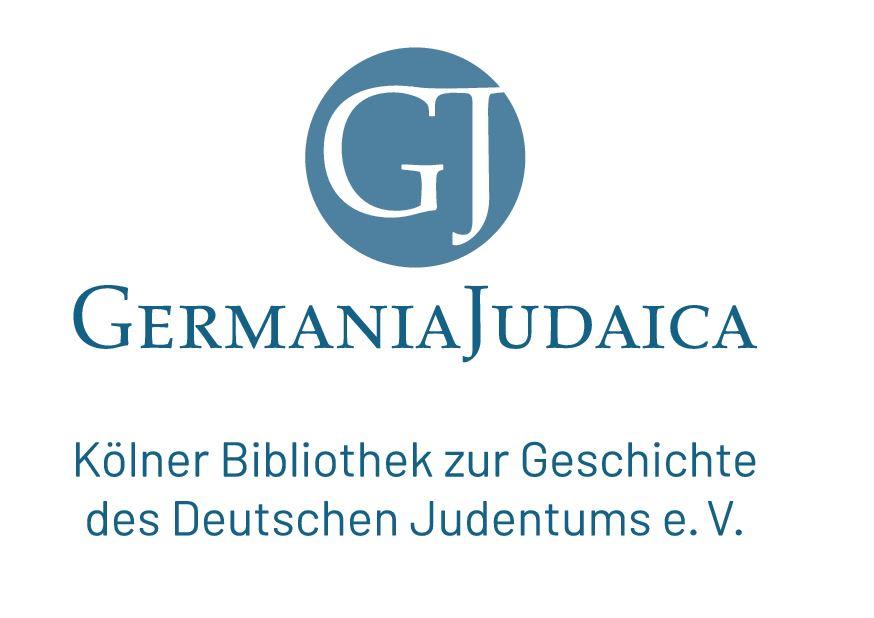 Germania Judaica - Kölner Bibliothek zur Geschichte des Deutschen Judentums e.V.